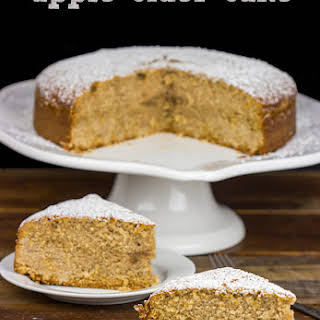Apple Cider Cake.