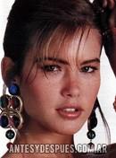 Valeria Mazza, 1990