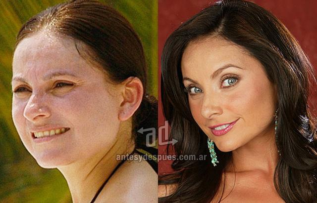 Elizabeth Alvarez sin maquillaje