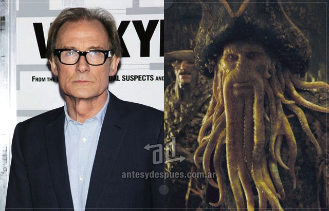 Bill Nighy sin máscara