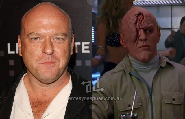 Dean Norris behind the mask