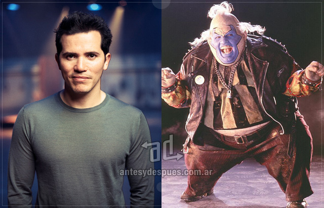 John Leguizamo behind the mask