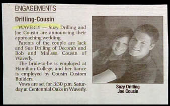 wedding announcement template newspaper muco tadkanews co