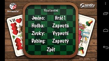 Screenshot of Prší Free