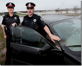 Fredericton police officers