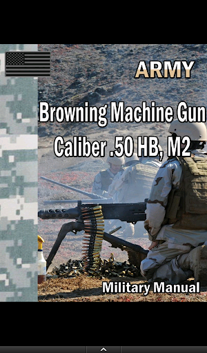 Browning Machine Gun .50 HB M2