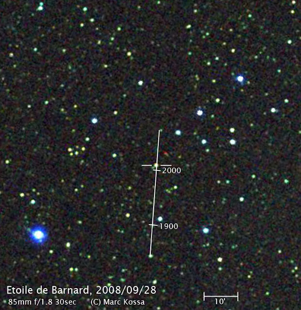 Barnard's Star - Marc's blog