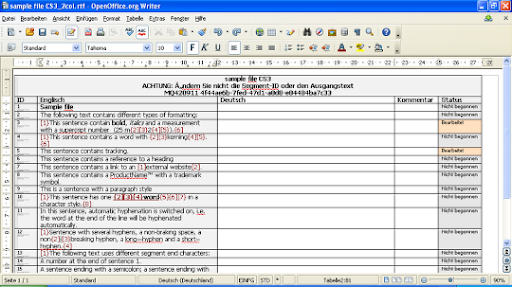 Translation Tribulations: RTF-Tabellenexport aus memoQ für