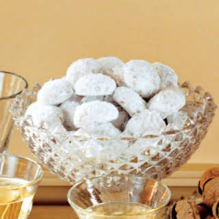 Almond-Orange Cookies.