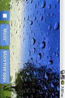 Screenshot of Piano songs with rain