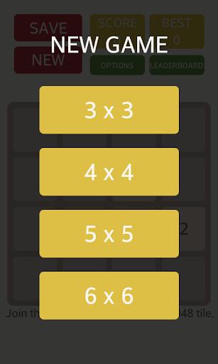 2048 4x4 5x5 6x6