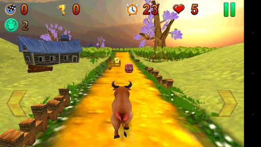 【免費冒險App】Angry Bull Run-APP點子