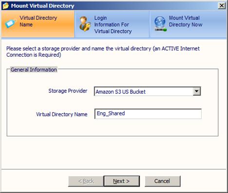 Attach Amazon S3 Buckets to Windows Server