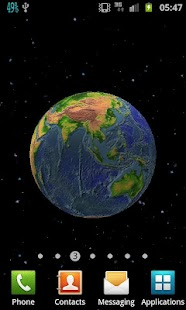 Planet Earth 3D Live Wallpaper - screenshot thumbnail
