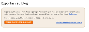 como salvar meu blog