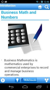 Business Math by WAGmob - screenshot thumbnail