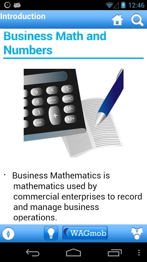 Business Math by WAGmob - screenshot