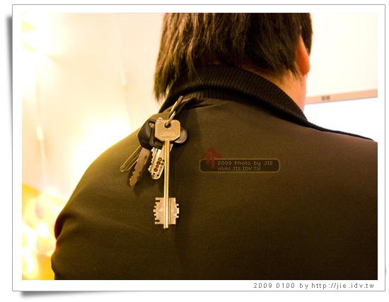 背後掛鑰匙