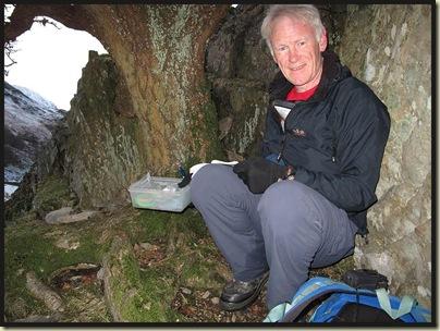 Callum Hord's first Geocache