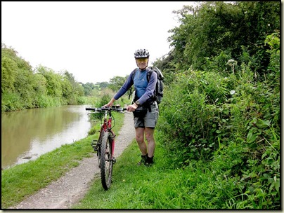 On the towpath near Marple