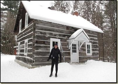 Outside Herridge Cabin
