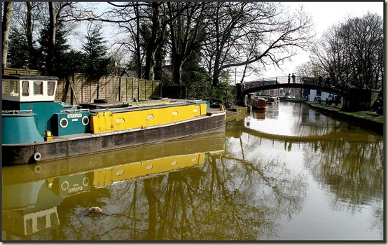 The Bridgewater Canal at Worsley Green