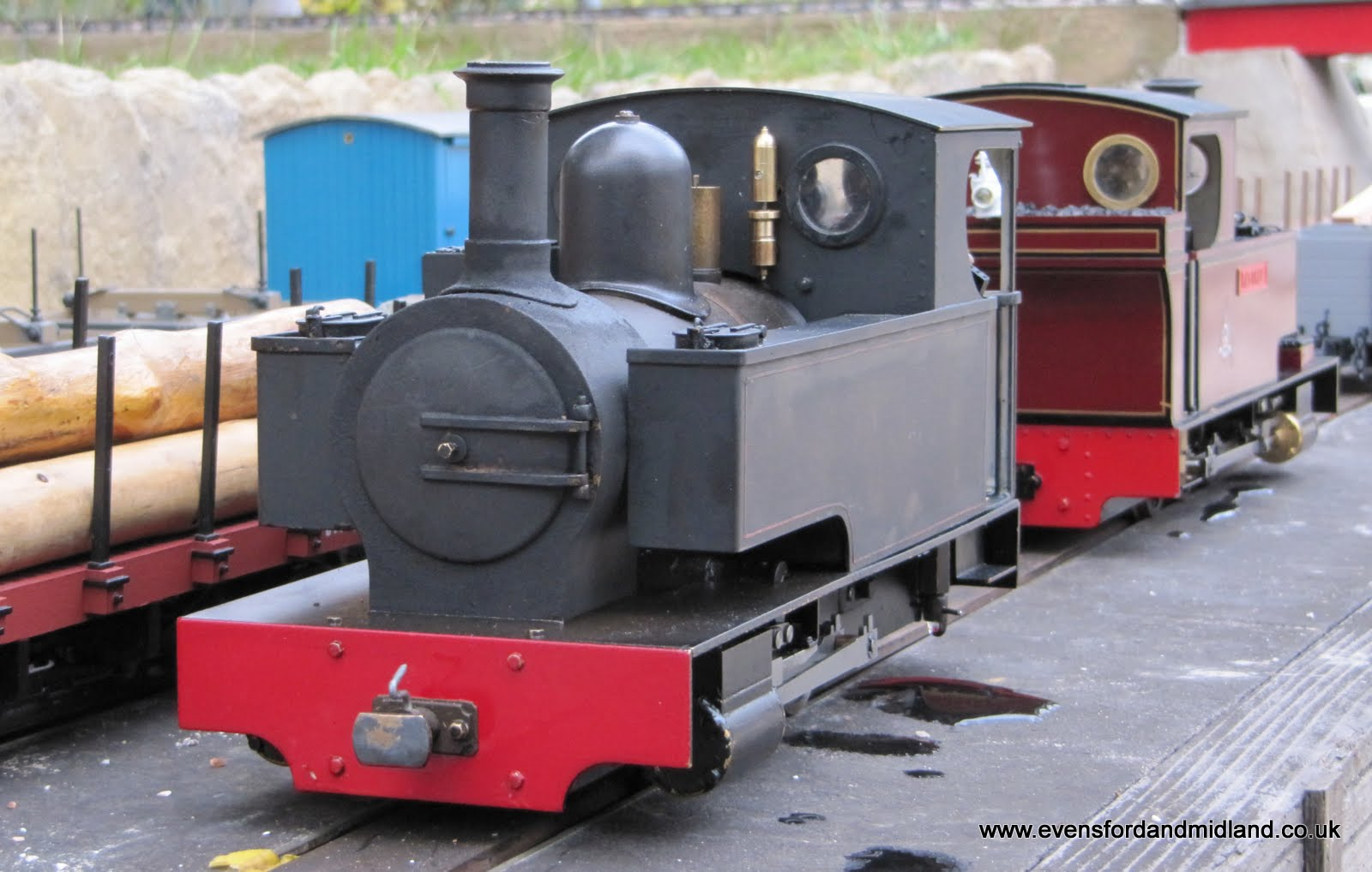 Developing Caradoc - Garden Railway Club