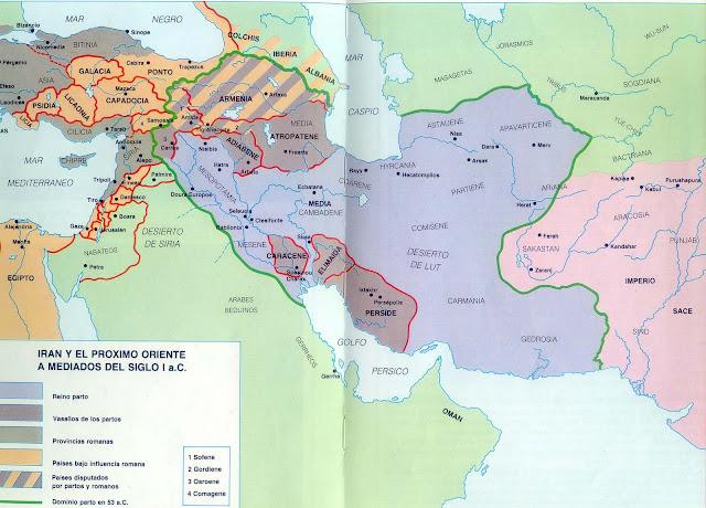 Resultado de imagen de Imperio Parto