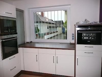 Kuchenfenster Zu Niedrig Eingebaut