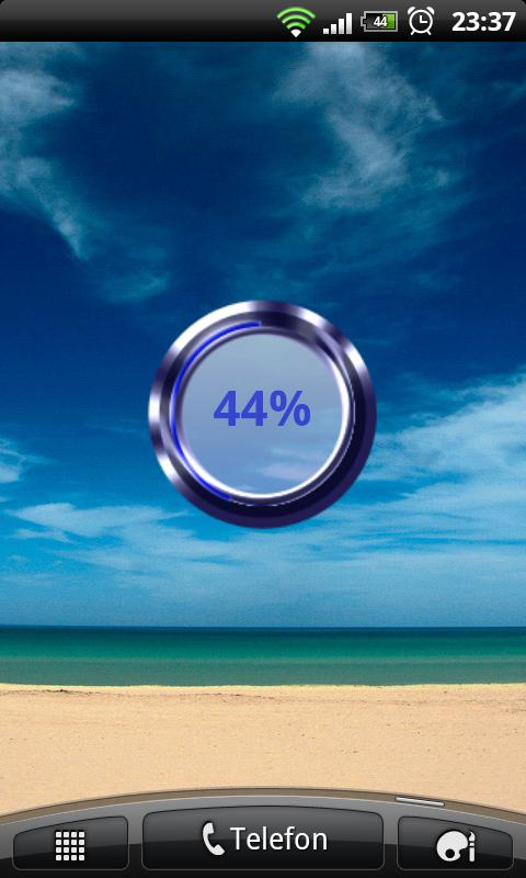 Blue Battery Disc - screenshot