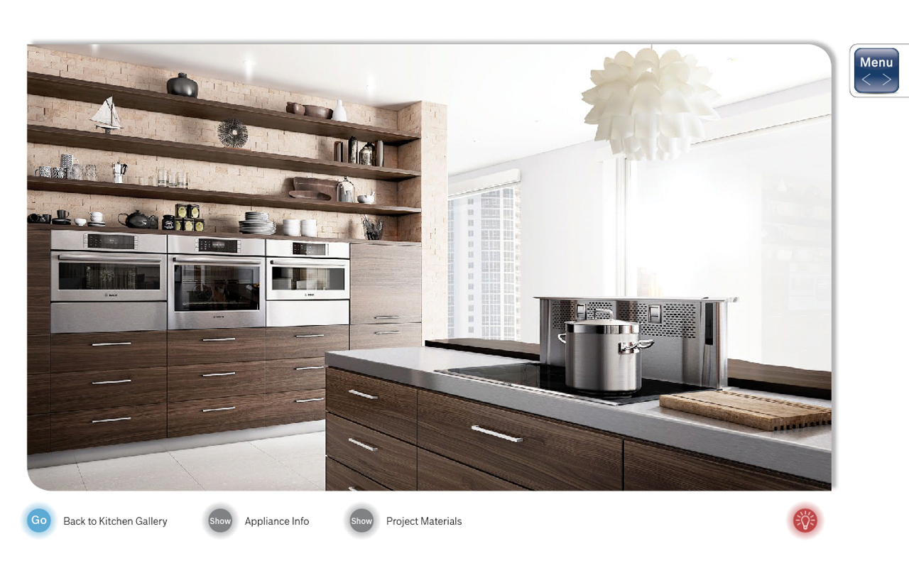 Bosch Kitchen Design Guide- screenshot
