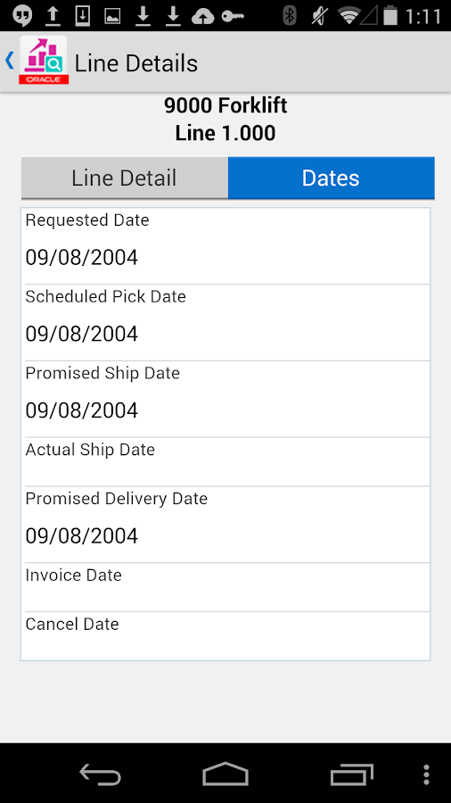 Search Sales Order for JDE E1- screenshot