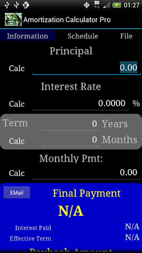 Amortization Calculator Pro