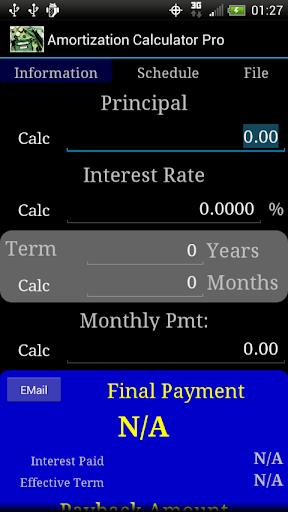 Amortization Calculator Pro