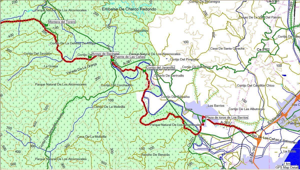 Tramo IV Corredor Verde Dos Bahias (click sobre el mapa)