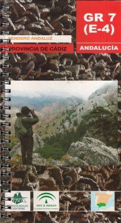 Portada de la guía del sendero GR 7(E-4) editado por la Federación Andaluza de Montañismo