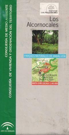 Portada del mapa Parque Natural de los Alcornocales edición 2009