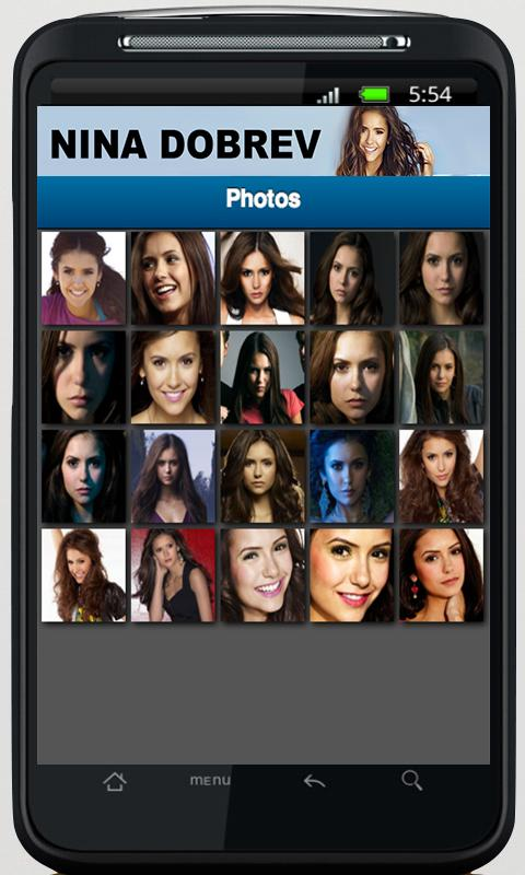 Nina Dobrev App - screenshot