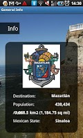 Screenshot of Mazatlan Mexico Travel Guide