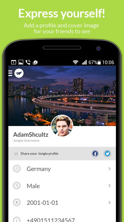 Jongla - Instant Messenger - screenshot