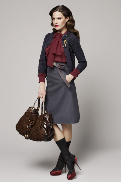 Petite Outfit: Inspired By Louis Vuitton Pre-Fall 2009