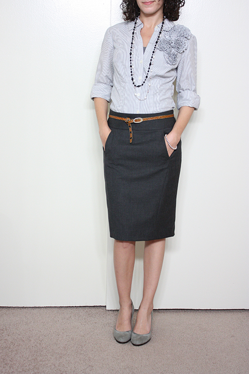 Petite Outfit: Feeling Lofty