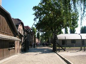 113 - Auschwitz I, El trabajo libera.JPG