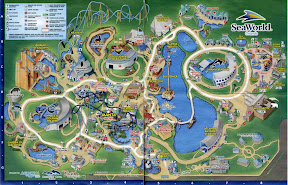 mapa sea world orlando