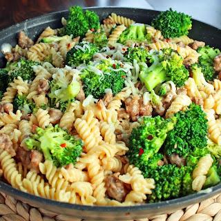 Broccoli and Sausage Pasta Toss