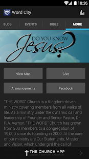 """THE WORD"" Church - screenshot thumbnail"