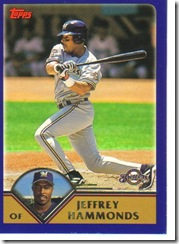 Card 25 Jeffrey Hammonds