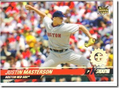 Justin Masterson Stadium [1st Day Issue]
