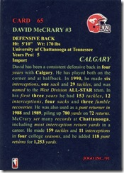 CFL 1 David McCrary Back