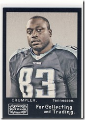 Mayo Tight End Crumpler